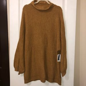 BP Women's Funnel Neck Tunic Sweater Size 4X